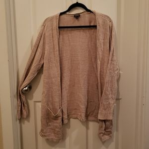 Torrid Beige Cardigan with Pockets